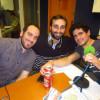 Con Rodro y Oscar ex-compañeros del Amoros