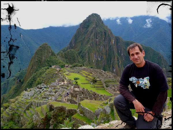 """José Miguel """"Sele"""" en Machu Picchu (Perú)"""
