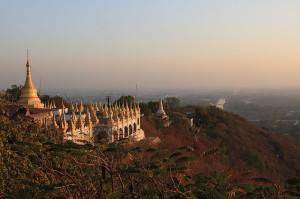 Colina de Mandalay, una de las visitas obligadas